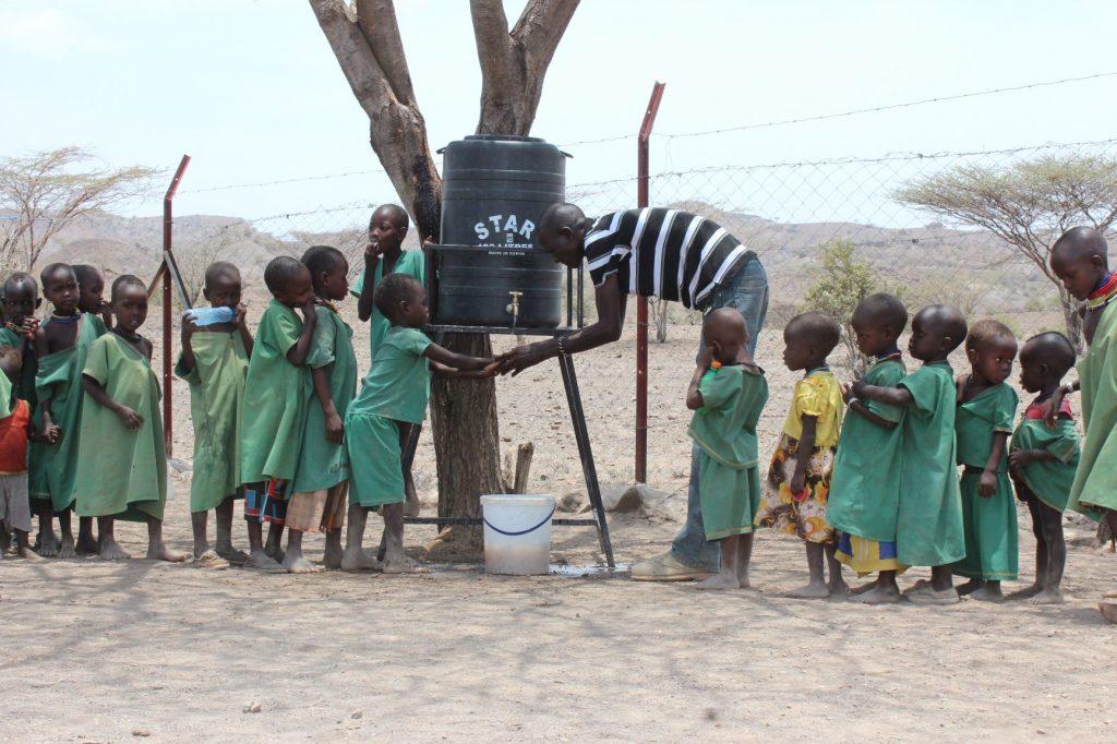 Dignificar las condiciones en escuelas preescolares de Turkana