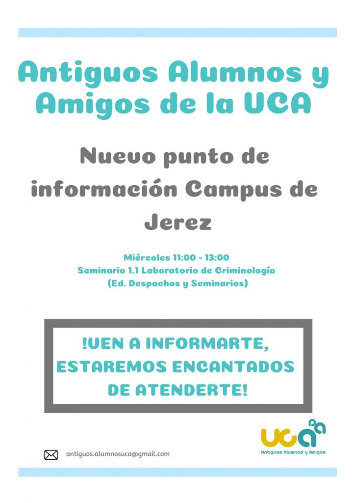 Nuevo punto de información en el Campus de Jerez
