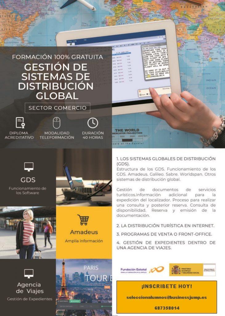 Curso gratuito de Gestión de Sistemas de Distribución Global – Grado Turismo
